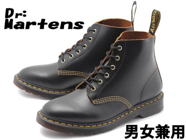 ドクターマーチン 101 アーク 6ホール ブーツ 男性用兼女性用 DR.MARTENS 101 ARC 6EYE BOOT R22701001 メンズ レディース  (10330203)