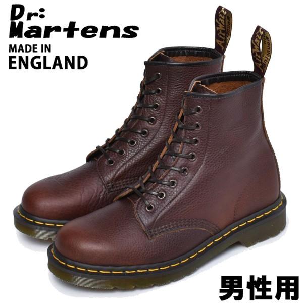ドクターマーチン 8ホール ブーツ 1460 アバンドン イギリス製 男性用 DR.MARTENS ABANDON 8HOLE BOOTS メンズ ブーツ ダークタン (01-10330240)