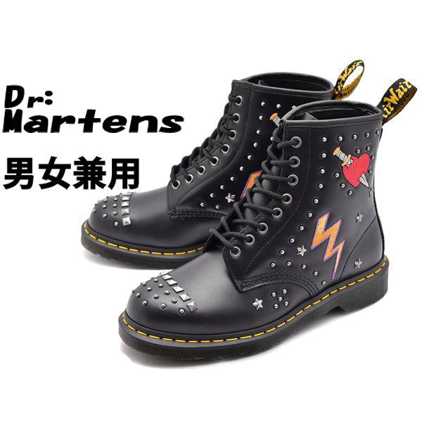 ドクターマーチン 1460 ロカビリー 8ホール ブーツ 男性用兼女性用 DR.MARTENS ROCKABILLY 8EYE BOOT R24207001 メンズ レディース ブーツ (10331063)