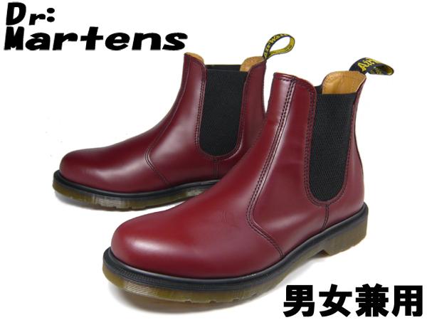 ドクターマーチン 2976 チェルシー ブーツ 男性用兼女性用 DR.MARTENS CHELSEA BOOT メンズ レディース サイドゴア チェリーレッド(01-10335076)