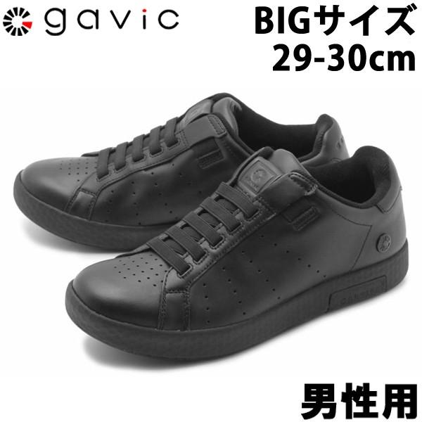 ガビックライフスタイル ゼウス ビッグサイズ 男性用 GAVIC LIFE STYLE ZEUS BIG SIZE GVC001 メンズ スリッポンスニーカー ブラックxブラック (01-18330005)
