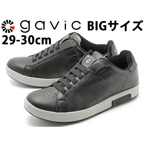 ガビックライフスタイル ゼウス ビッグサイズ 男性用 GAVIC LIFE STYLE ZEUS BIG SIZE GVC001 メンズ スリッポンスニーカー ブラック (01-18330015)