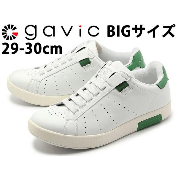 ガビック ライフスタイル ゼウス BIGサイズ 男性用 GAVIC LIFE STYLE ZEUS GVC001 メンズ スニーカー ホワイトxグリーン (01-18330018)