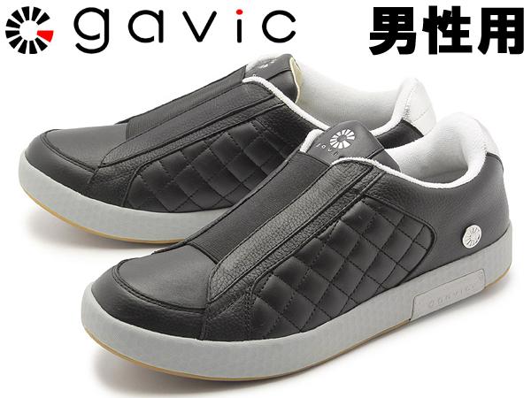 ガビック シヴァ 男性用 GAVIC SIVA GVC003 メンズ スニーカー ブラックxシルバー (01-18330030)