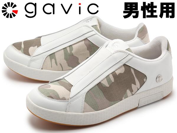 ガビック シヴァ 男性用 GAVIC SIVA GVC003 メンズ スニーカー ホワイトxカモ (01-18330039)