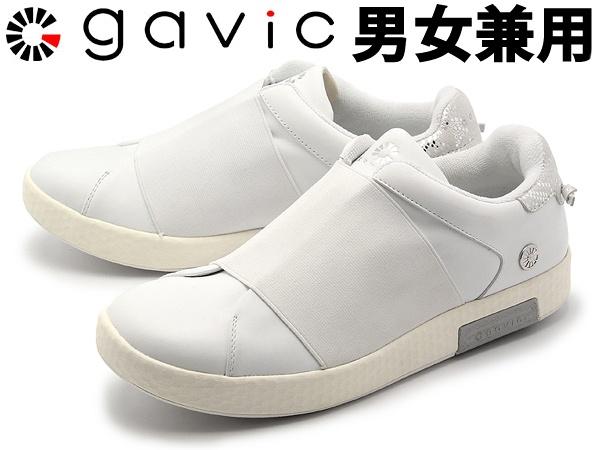 ガビック アヌビス 男性用兼女性用 GAVIC ANUBIS GVC004 メンズ レディース スニーカー ホワイト (01-18330041)