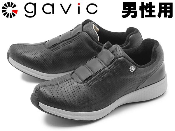 ガビック ヘリオス 男性用 GAVIC HELIOS GVC005 メンズ スニーカー ブラック (01-18330050)