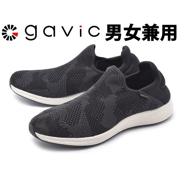ガビック フレイ 男性用兼女性用 GAVIC FREY GVC008 メンズ レディース スニーカー ブラック (01-18330080)