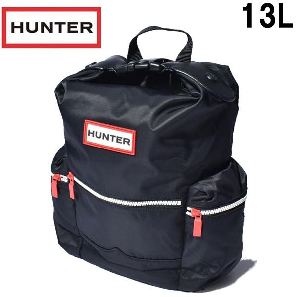 ハンター トップクリップ ミニバックパック 13L 男性用兼女性用 HUNTER TOPCLIP MINI BACKPACK UBB6018ACD メンズ レディース リュックサック ブラック (01-62470010)