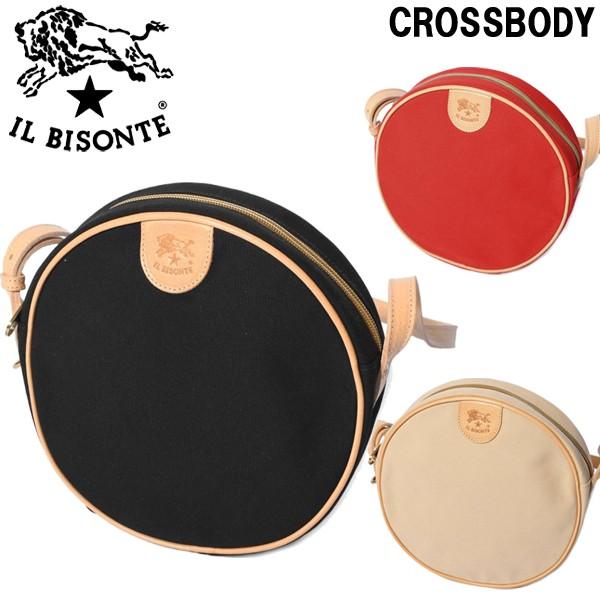 イルビゾンテ クロスボディー 男性用兼女性用 IL BISONTE CROSSBODY L1215 メンズ レディース ショルダーバッグ (6360-0026)