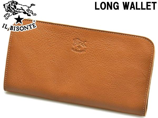 イルビゾンテ 長財布 男性用兼女性用 IL BISONTE WALLET C0909 メンズ レディース ウォレット キャラメル (01-63600182)