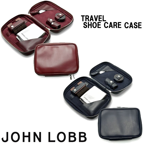 ジョンロブ シューケアケース 男性用兼女性用 JOHN LOBB TRAVEL SHOE CARE CASE XC0109L メンズ レディース シューケアケース (1275-0010)