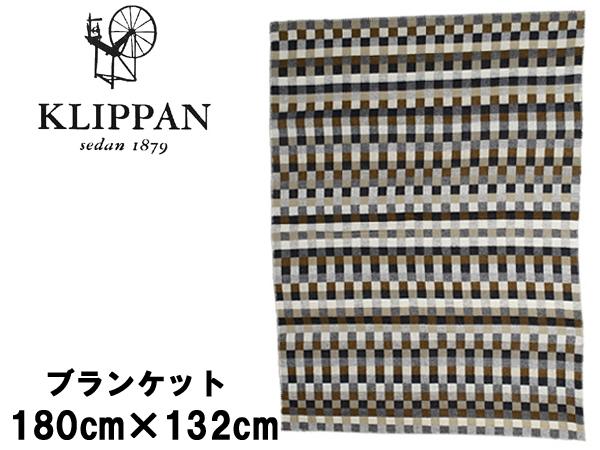 クリッパン ウール シングル ブランケット 180x132cm KLIPPAN WOOL SINGLE BLANKET 2257 ひざ掛け 毛布 ピクシーグレー (01-77340100)