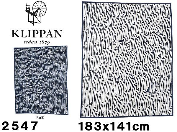 クリッパン シュニール コットン ブランケット 183x141cm KLIPPAN CHENILLE COTTON BLANKET 2547 ひざ掛け 毛布 北欧 雑貨 スウェーデン 並行輸入品 (77340120)