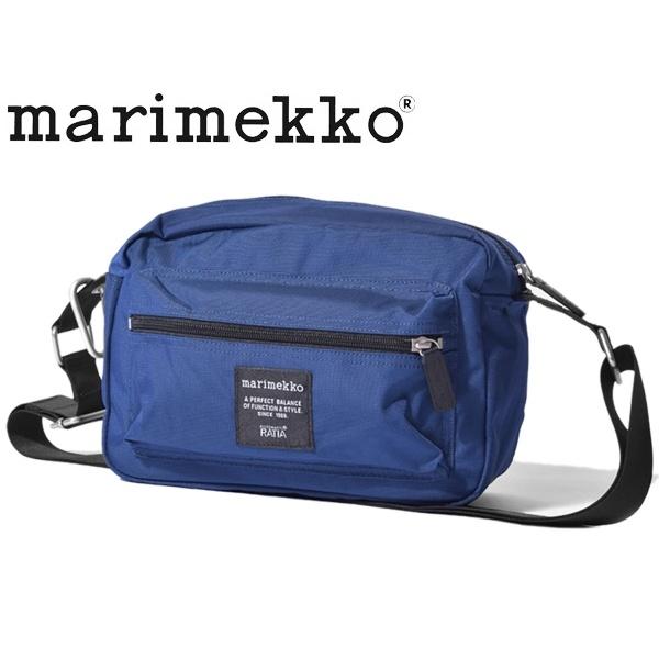 マリメッコ ローディ マイ シングス バッグ 女性用 MARIMEKKO ROADIE MY THINGS BAG 47241 レディース 鞄 ネイビー (01-74036416)