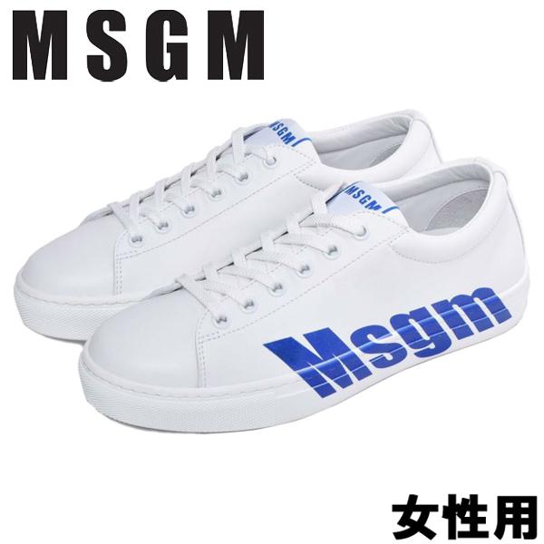 MSGM カップソール スニーカー 女性用 MSGM CUPSOLE SNEAKERS 2641MDS102 100 レディース スニーカー (13585000)