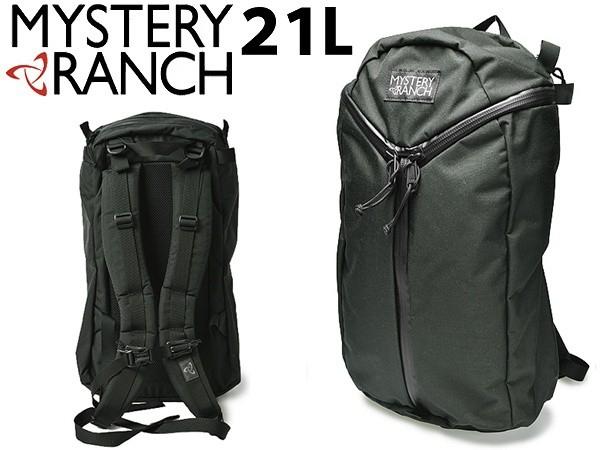 ミステリーランチ アーバンアサルト バッグ 21L 男性用兼女性用 MYSTERY RANCH URBAN ASSAULT BAG 19761091 メンズ レディース バッグパック ブラック (01-60390041)