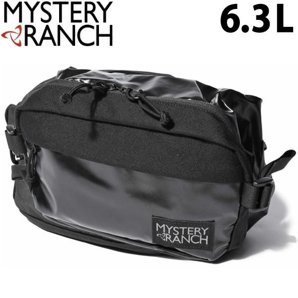 ミステリーランチ フルムーン 6.3L 男性用兼女性用 MYSTERY RANCH FULL MOON メンズ レディース ボディバッグ ブラック (01-60390390)