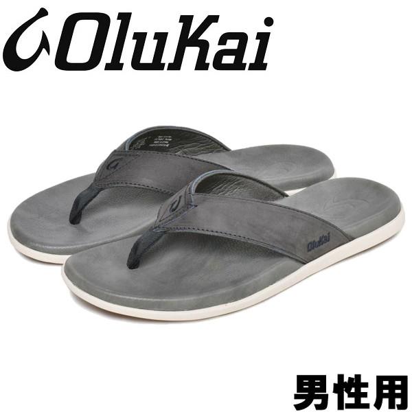 オルカイ NALUKAI SANDAL 男性用 OLUKAI NALUKAI SANDAL 10386 メンズ サンダル インディゴxチャコール (01-13960322)