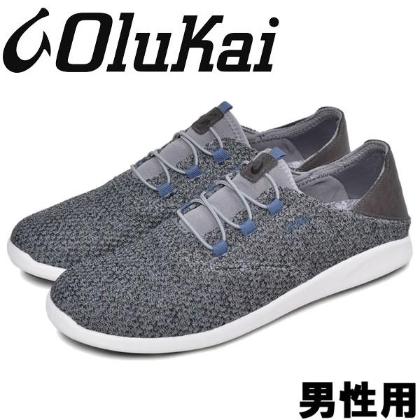 オルカイ ALAPALI 男性用 OLUKAI ALAPALI 10395 メンズ スニーカー チャコール (01-13963111)