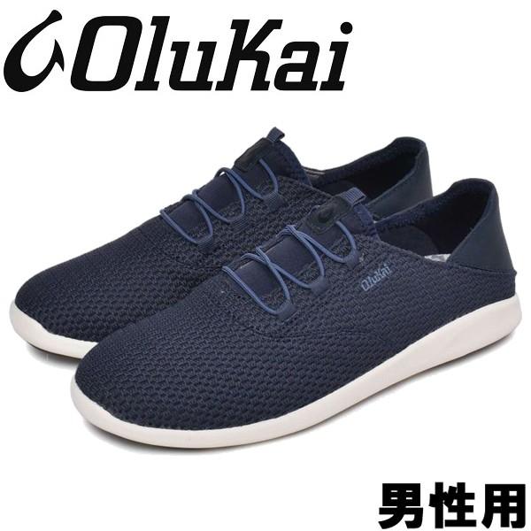 オルカイ ALAPALI 男性用 OLUKAI ALAPALI 10395 メンズ スニーカー トレンチブルー (01-13963112)