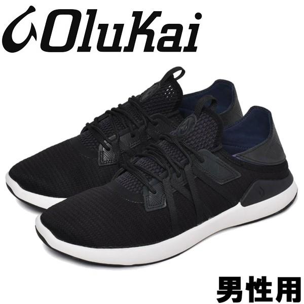 オルカイ MIO LI 男性用 OLUKAI MIO LI 10440 メンズ スニーカー ブラックxブラック (01-13963120)