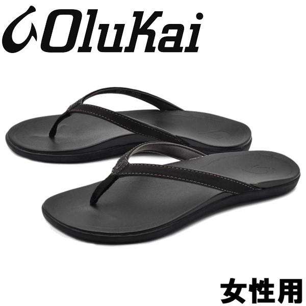 オルカイ ホピオ 女性用 OLUKAI HOOPIO 20294 レディース サンダル オニキスxオニキス (01-13965203)