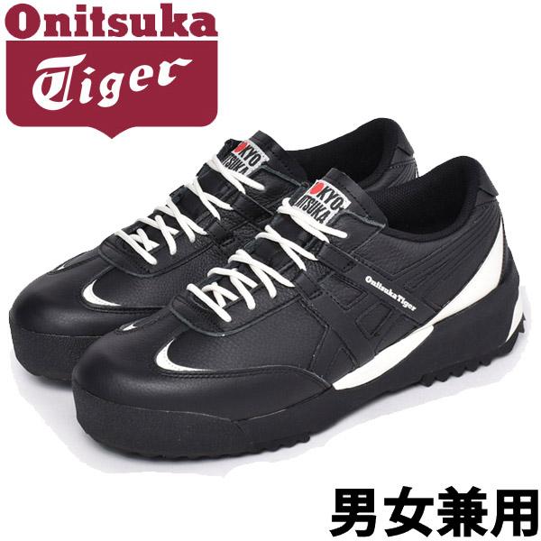 オニツカタイガー デリゲイションEX 男性用 ONITSUKA TIGER DELEGATION EX 1183A559 メンズ スニーカー ブラックxブラック (01-11171100)