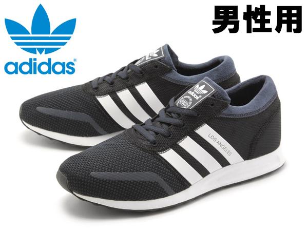 訳あり品 アディダス オリジナルス ロサンゼルス 27.5cm ブラック S79024 男性用 adidas Originals LOS ANGELES (ad094)