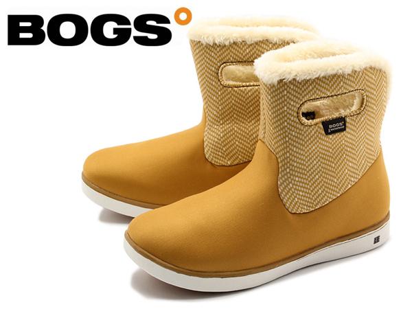 訳あり品 ボグス マルチカラー ウォータープルーフ ショート ブーツ 78410A 267 女性用 ボーンブラウンマルチ 24.0cm 39 BOGS SHORT BOOTS (bs007)