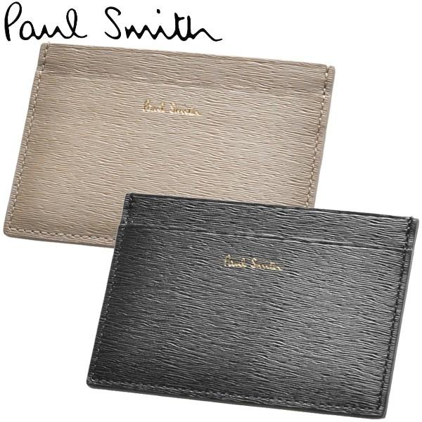 ポールスミス カードケース 男性用兼女性用 PAUL SMITH WALLET CC STRWGRAIN 4768 ASTRGR メンズ レディース カードケース (6034-0002)