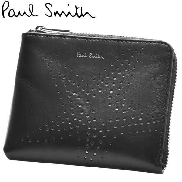 ポールスミス 財布 男性用兼女性用 PAUL SMITH WLT CORNER ZIP STARS 5303 A40587 メンズ レディース 財布 (60340085)
