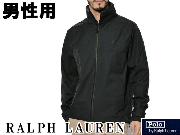 ポロ ラルフローレン ワンポイント シェルジャケット 男性用 メンズ アウター ウェア ポロブラック (01-21230375)