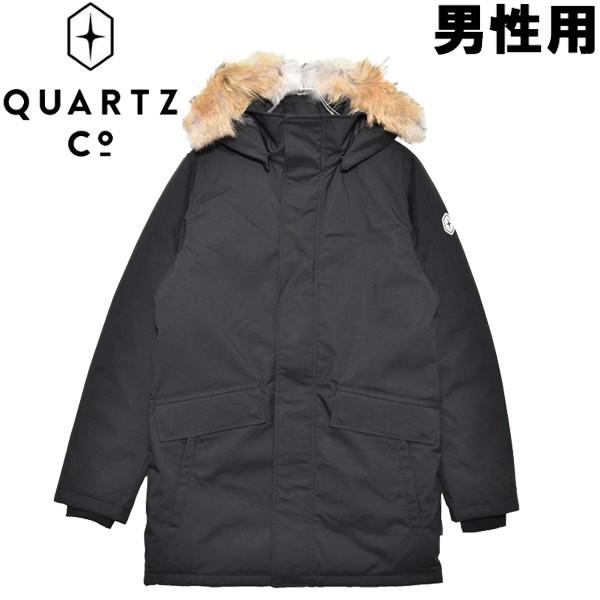 クオーツ コー シャンプレーン 男性用 QUARTZ Co. CHAMPLAIN 36310 メンズ ダウンジャケット ブラック (01-21730015)
