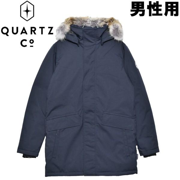 クオーツ コー シャンプレーン 男性用 QUARTZ Co. CHAMPLAIN 36310 メンズ ダウンジャケット ネイビー (01-21730016)