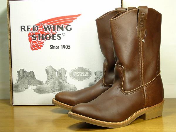 レッドウイング レッドウィング1155 ペコスブーツ 茶REDWING RED WING 1155 28.5cmUS10.5 ワイズ:B[ティンバーランド ドクターマーチン トリッカーズ ホワイツ] (85300046-105)