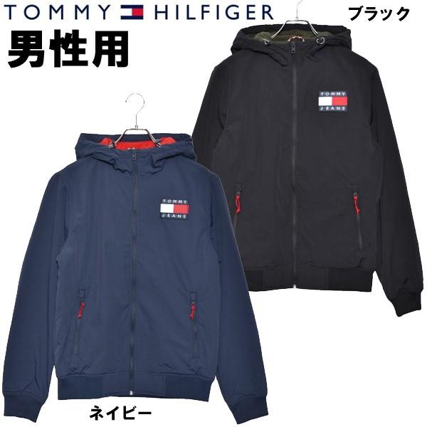 トミーヒルフィガー パデッドジップアップジャケット 男性用 TOMMY HILFIGER TJM PADDED NYLON JACKET DM0DM07120 メンズ ナイロン ジャケット (2609-0035)