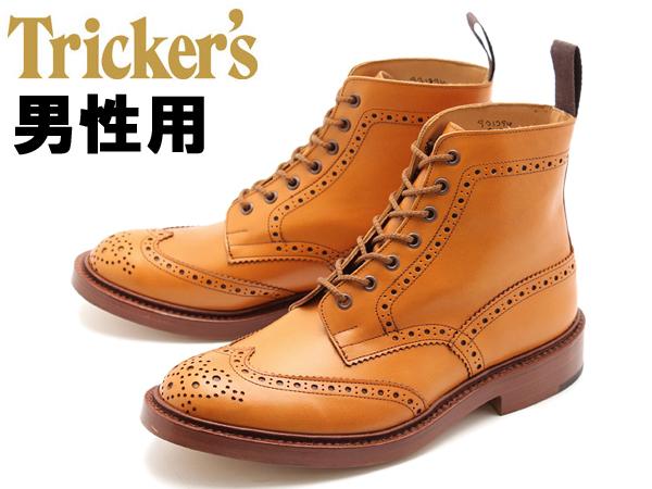 トリッカーズ ストウ ダブルレザーソール 男性用 TRICKERS STOW5634/2 ACN F5 メンズ (16312701)
