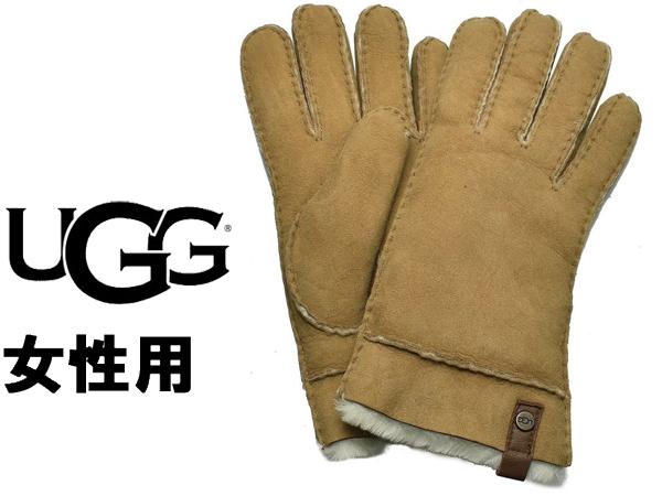 UGG アグ テニー グローブ 女性用 UGG W TENNEY GLOVE 17366 レディース 手袋 チェスナット (01-22645490)