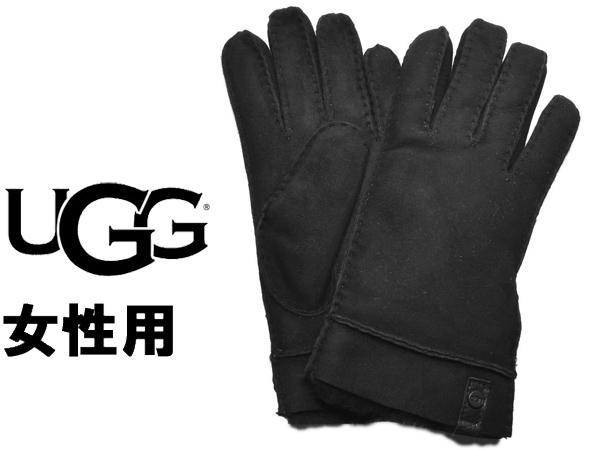 UGG アグ テニー グローブ 女性用 UGG W TENNEY GLOVE 17366 レディース 手袋 ブラック (01-22645491)