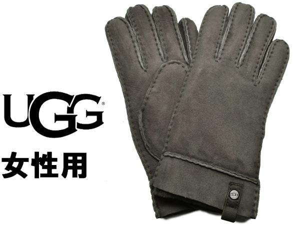 UGG アグ テニー グローブ 女性用 UGG W TENNEY GLOVE 17366 レディース 手袋 チャコール (01-22645492)