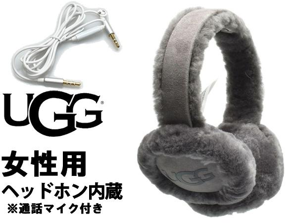 UGG アグ クラシック テック イヤーマフ 女性用 UGG W CLASSIC TECH EARMUFF 18708 レディース 耳あて チャコール (01-22645542)