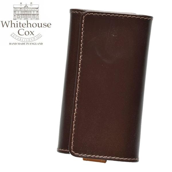 ホワイトハウスコックス ウエスト エンド キーケース 男性用兼女性用 WHITEHOUSE COX WEST END KRYCASE S9692 メンズ レディース キーホルダー ハバナxニュートン (01-60490019)