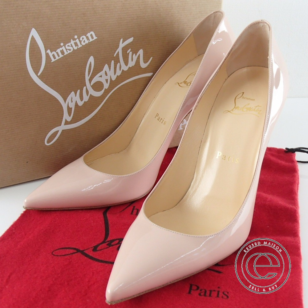 best authentic 98a06 1ef23 DECOLLETE 554 100 PATENT decollete pointed toe patent pumps 38 shoes patent  leather Lady's