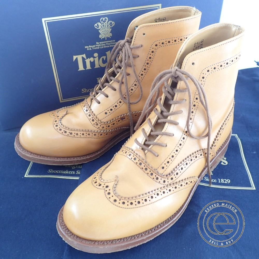 Tricker's【トリッカーズ】 L6439 カントリーブーツ 6 FIT:4 レザー レディース 【中古】