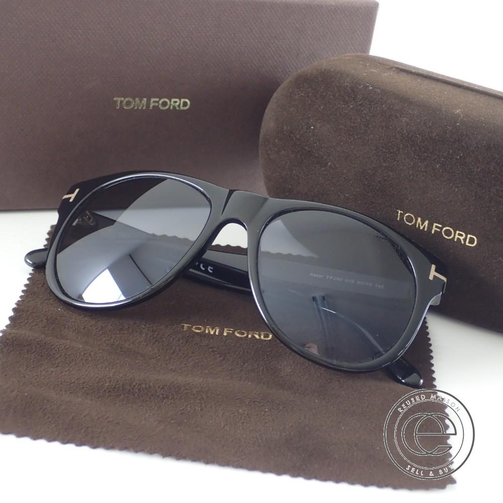 【TOM FORDトムフォード】 TF299 ASTOR 01B ウェリントン グラデーションサングラス 【中古】