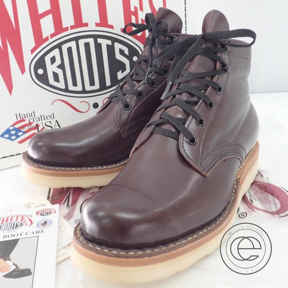 White's Boots【ホワイツブーツ】 2332CC ブリックチェリー セミドレスブーツ8E シューズ メンズ 【中古】