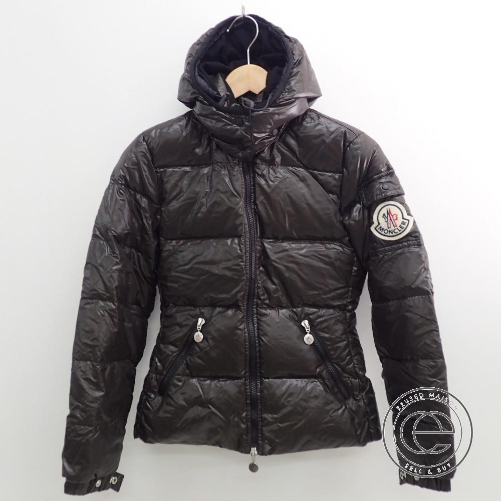 Moncler Down Jacket dark brown black