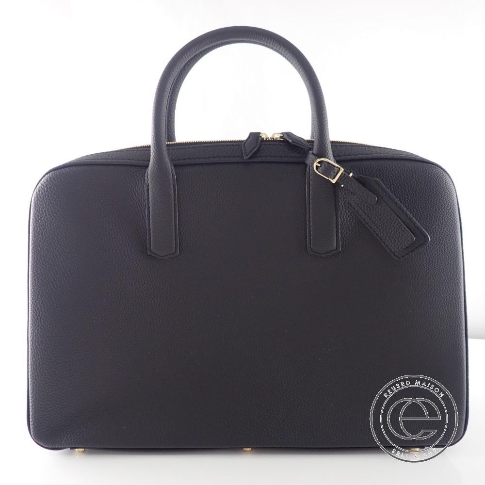 【大峡製鞄】1123-GMS スリムオーバーナイト レザーブリーフケース メンズ【中古】