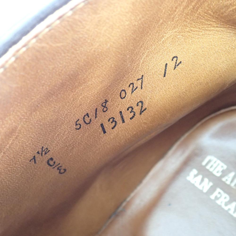 Alden オールデン 13132 シガーコードバン チャッカブーツ 7 1 2E シガー ダークブラウンメンズ8nwP0kO